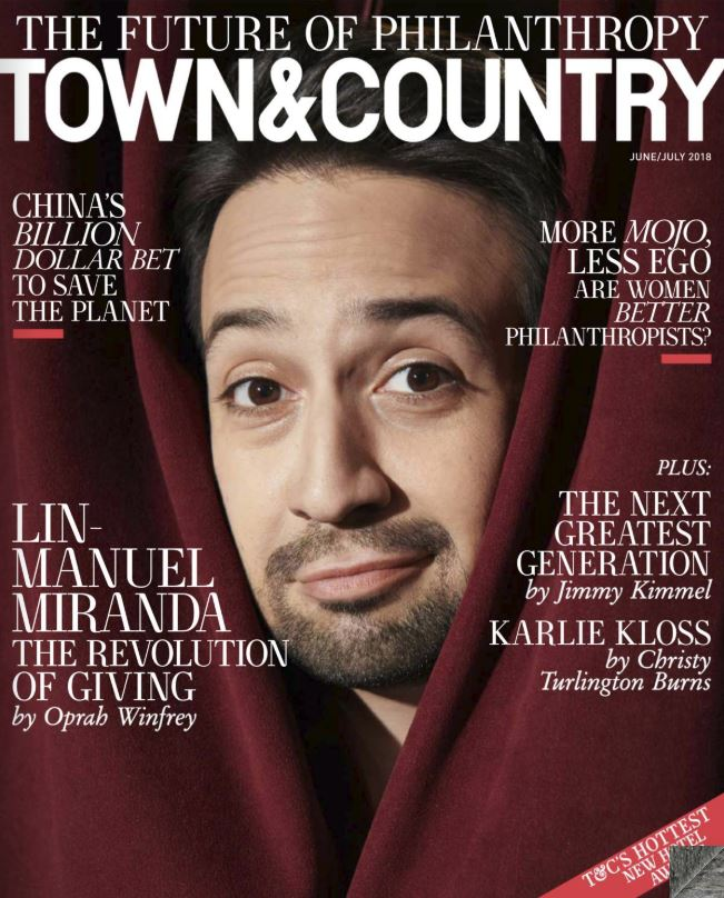 Town & Country June/July Cover