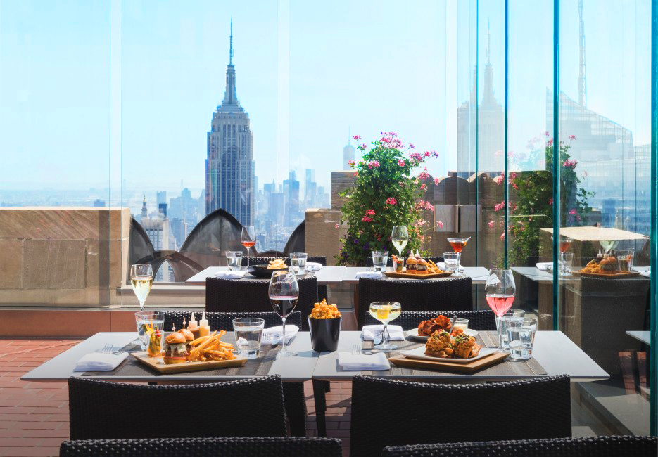 Rainbow room iconic nyc landmark dining entertainment for Best dining rooms nyc