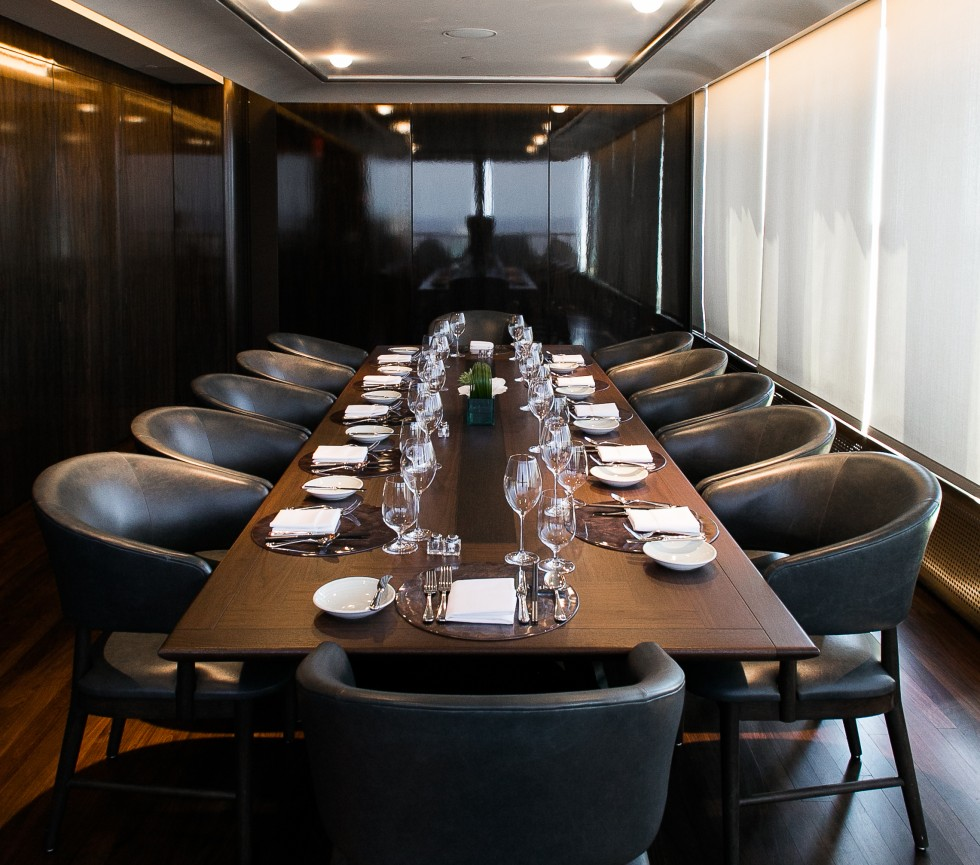 Rainbow Room: Private Dining Room